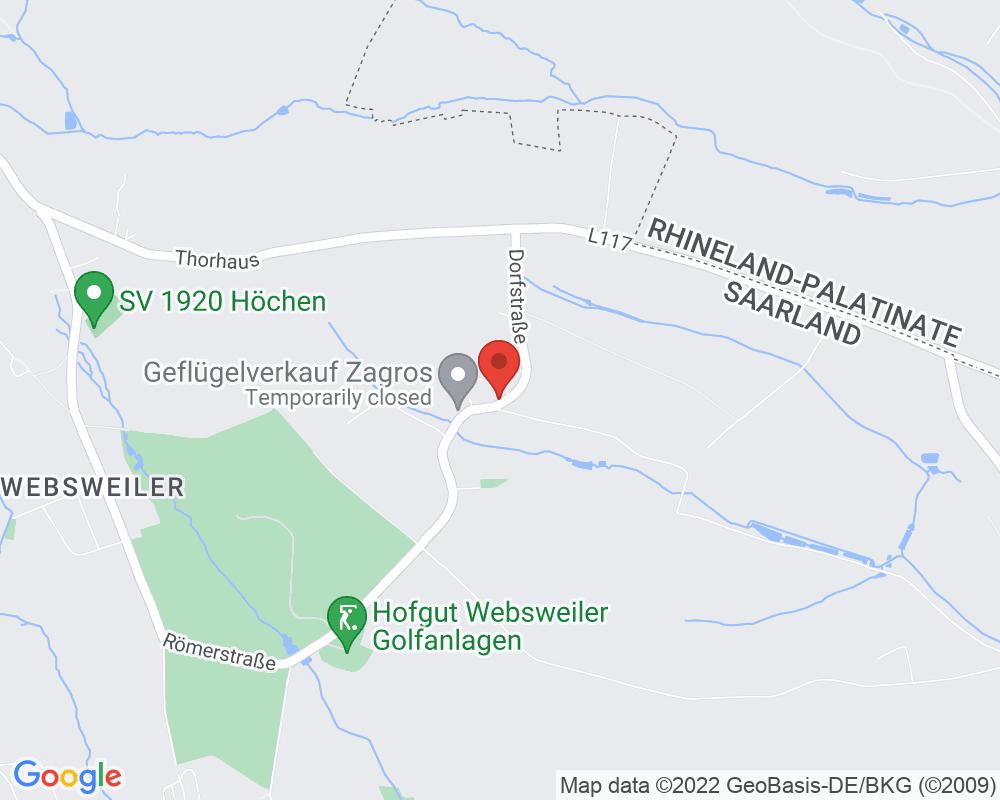 Map of Zum Altbreitenfelderhof