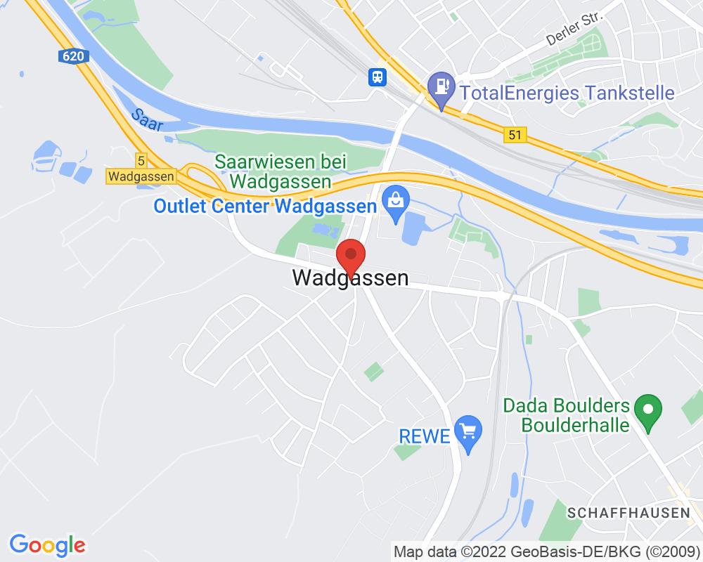 Map of Alte Abtei Wadgassen